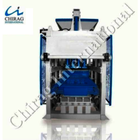 Semi Automatic Hydraulic Block Machine