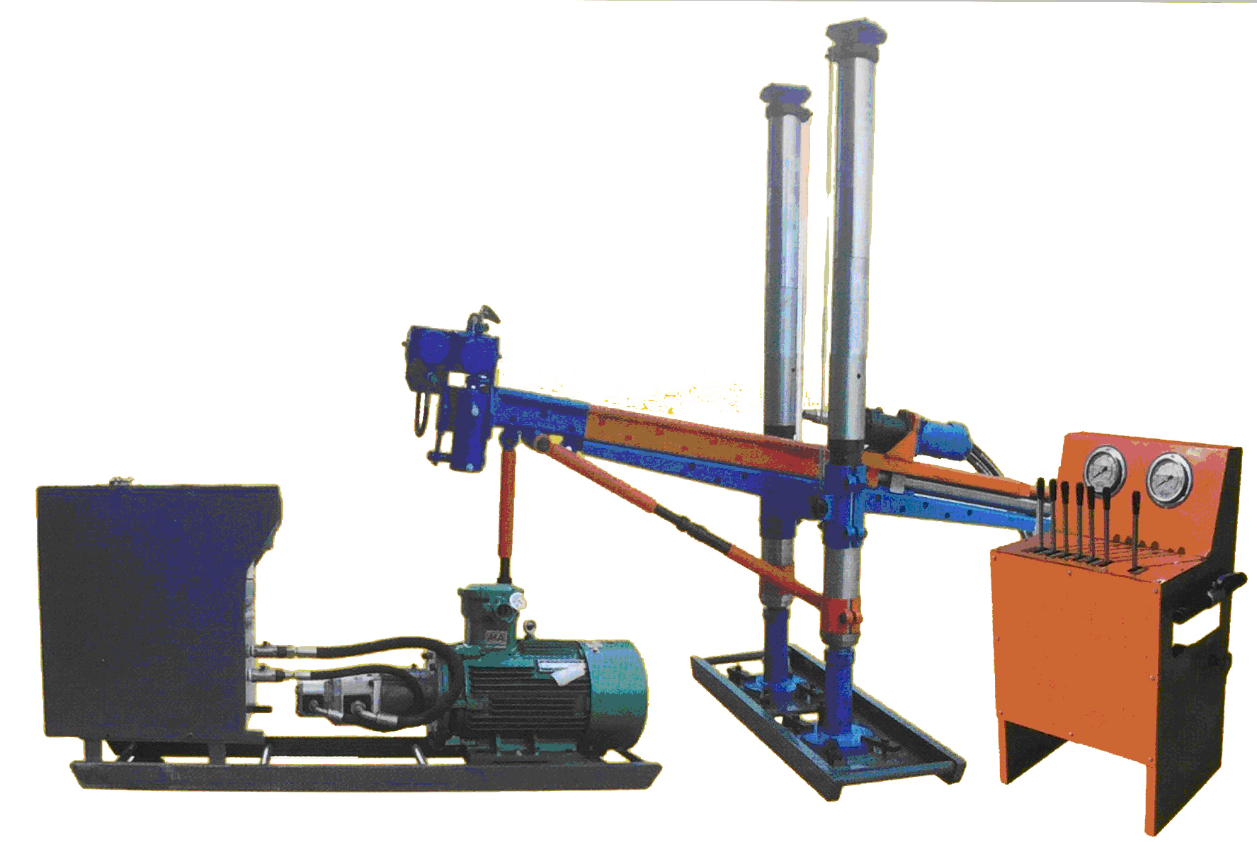 Building Block Multi-Function Drilling Rig