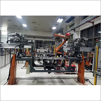 SS Tank Fabrication Robot Welding Automation System