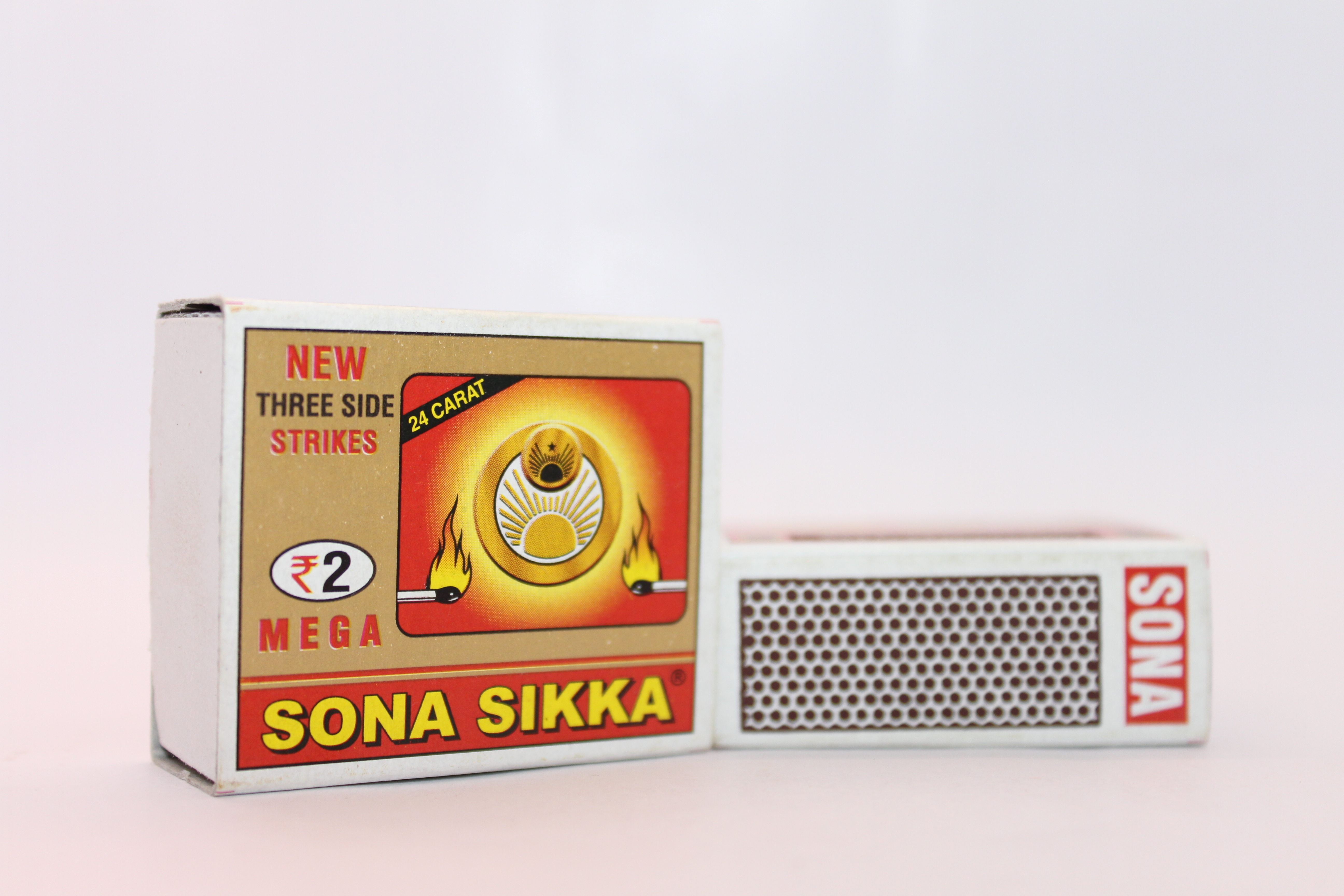 Sona Sikka 2 Rupees Safety Matches