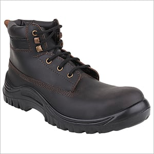 With Lace Safety Boot