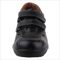 Ladies Black Safety Shoes
