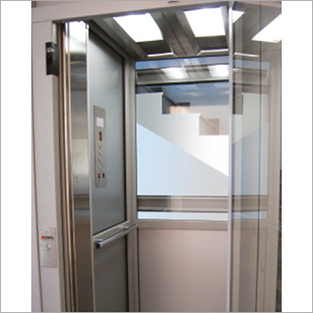 SS Half Glass Elevator Cabin
