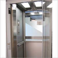 SS Half Elevator Glass Cabin