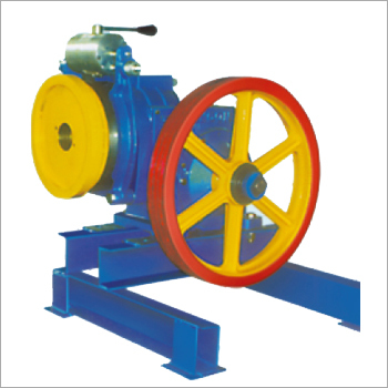 Automatic Elevator Single Shaft Traction Machine
