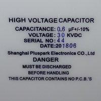 Capacitor 30kV 0.6uF 600nF