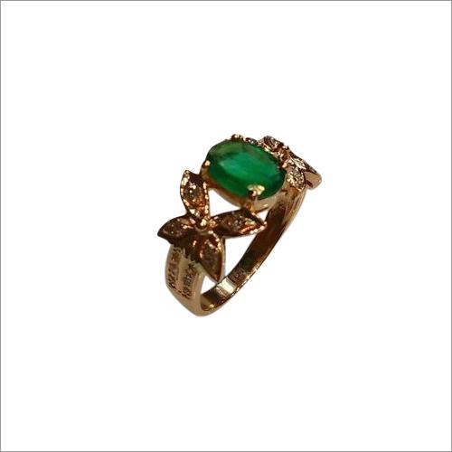 Designer Emerald Gold Ring