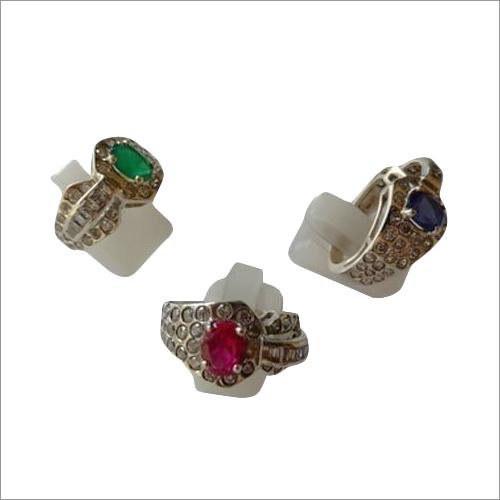 Imitation Rough Ruby Ring