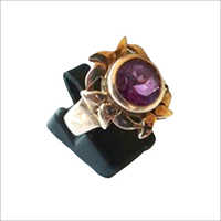 Karat Rose Gold Amethyst Ring
