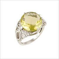 Lemon Topaz Ring