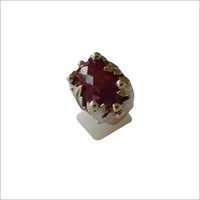 Ruby Corundum Stone Ring