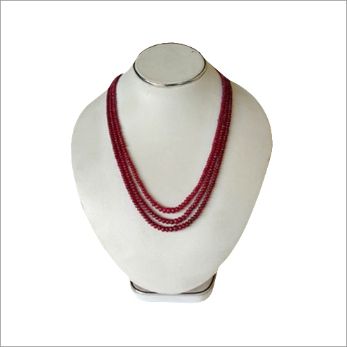 African Ruby Beads