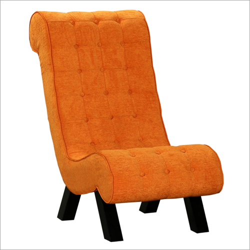 Lawrence Single Seater Sofa Tangerine Colour