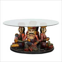 Glass Top Coffee Center Table