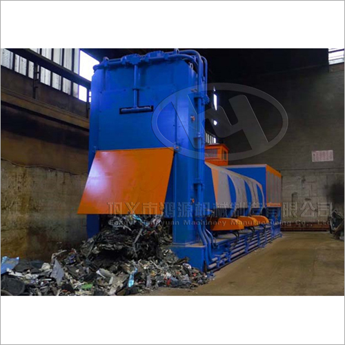 Hydraulically Driven Machine