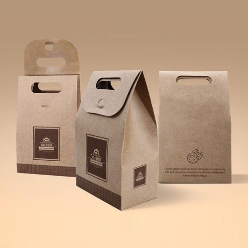Kraft Paper Food Box