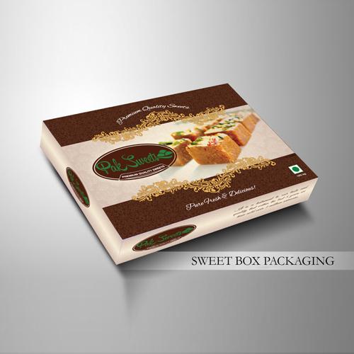 Cardboard Sweet Box
