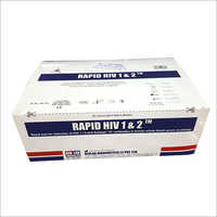 Rapid HIV 1 & 2 Triline Test Kit