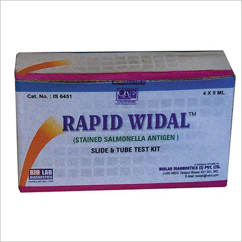 Rapid Widal Test Kit