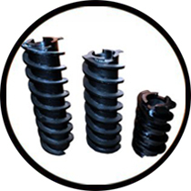 Milltec Whitener Feeder Screw