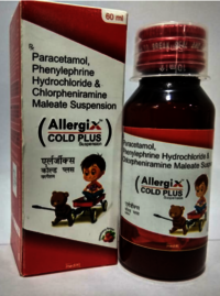 Paracetamol, Phenylephrine Hydrochloride & Chlorpheniramine Malate Suspension