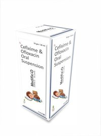 Cefixime & Ofloxacin Oral Suspension