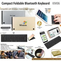 Compact Foldable Bluetooth Keyboard