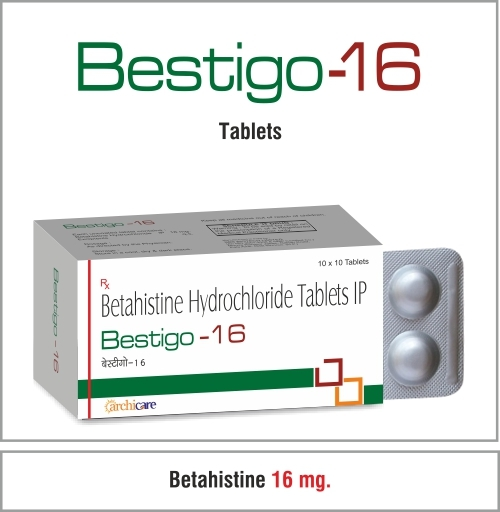 Betahistine 8 mg. / 16mg.