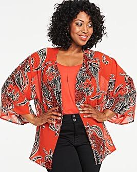 Printed Ladies Kimono