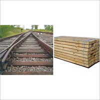 India Wooden Railway Sleeper