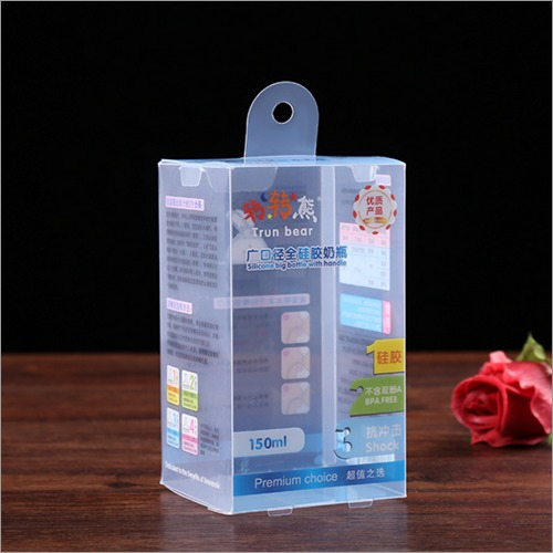 Custom Plastic Transparent Packaging Box for baby care products