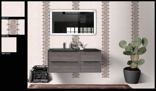 300x450 Digital Bathroom Wall Tiles