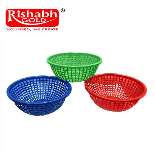 Coloured Plastic Tokri