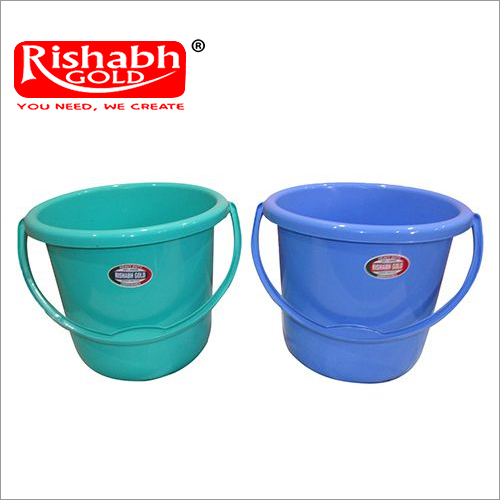 Plastic Bathroom Colour Bucket