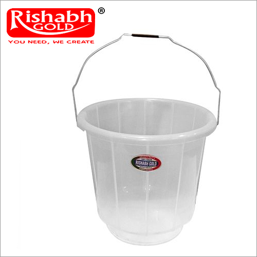 Plastic Plain Bucket