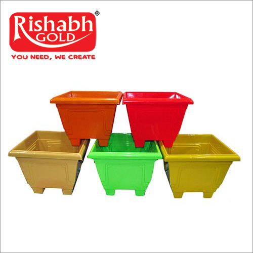 Plastic Square Pot