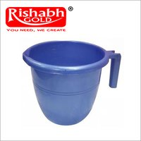 Plastic Bath Blue Mug