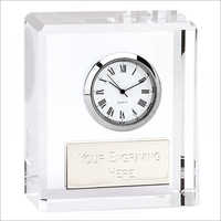 Promotional Crystal Clock