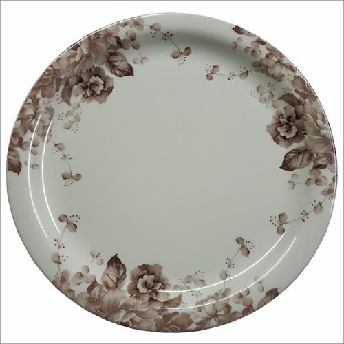 Floral Printed Dinner Plate