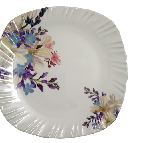 Crockery Printed Plate