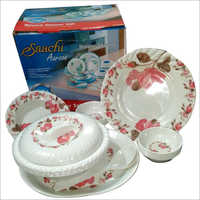 Printed Melamine Dinner Set