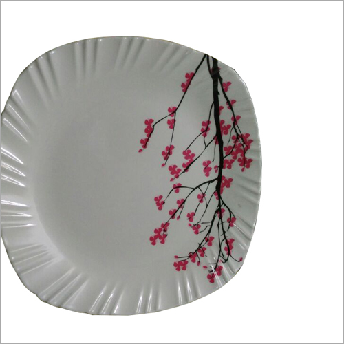 Printed Dinner Crockery Plate