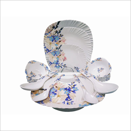 16 Pieces Melamine Crockery Set