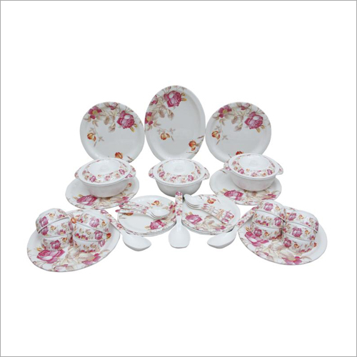 32 Pieces Melamine Crockery Set