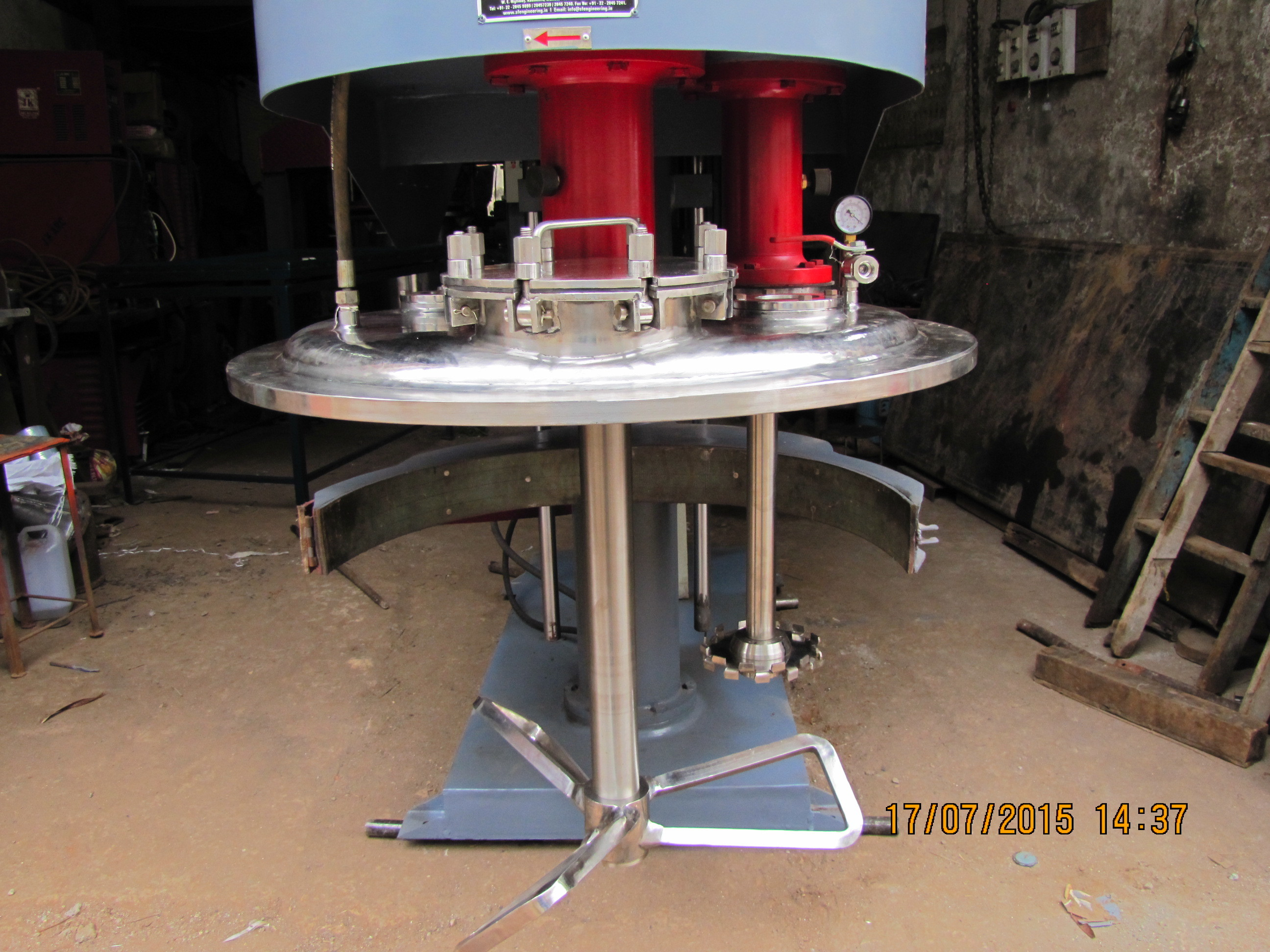 Twin Shaft Mixer Disperser