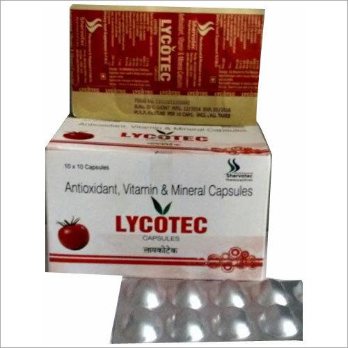 Antioxidant Vitamin And Mineral Capsules