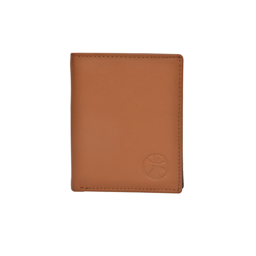 Mens Note Case Bi Fold Leather Wallet