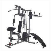 4 Station Multi Fiber Weight Gym Machine
