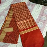 Golden Soft Silk Design Sarees