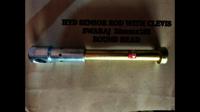 Hydraulics Lift Plunzer with Clevis Swaraj